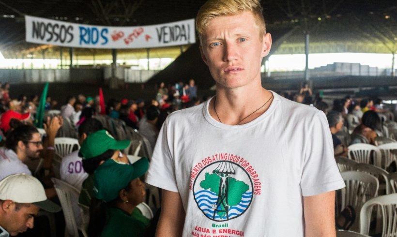 Cristian: de atingido pela Usina do Baixo Iguaçu a militante pelo direito à água
