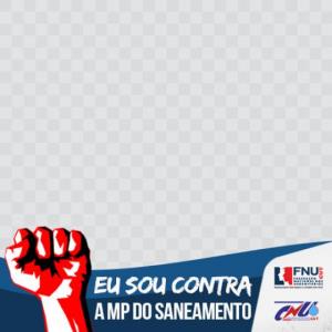 Faça parte da campanha contra a MP do Saneamento – coloque o tema na sua foto do Facebook