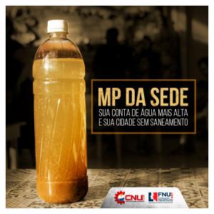 Dossiê aponta os impactos que a MP 844/2018 trará ao saneamento no país